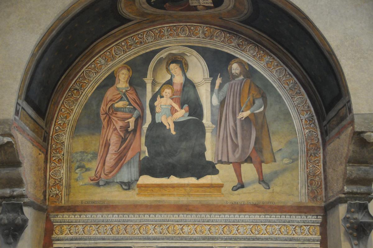 Altare S. Crescentia e Modesto